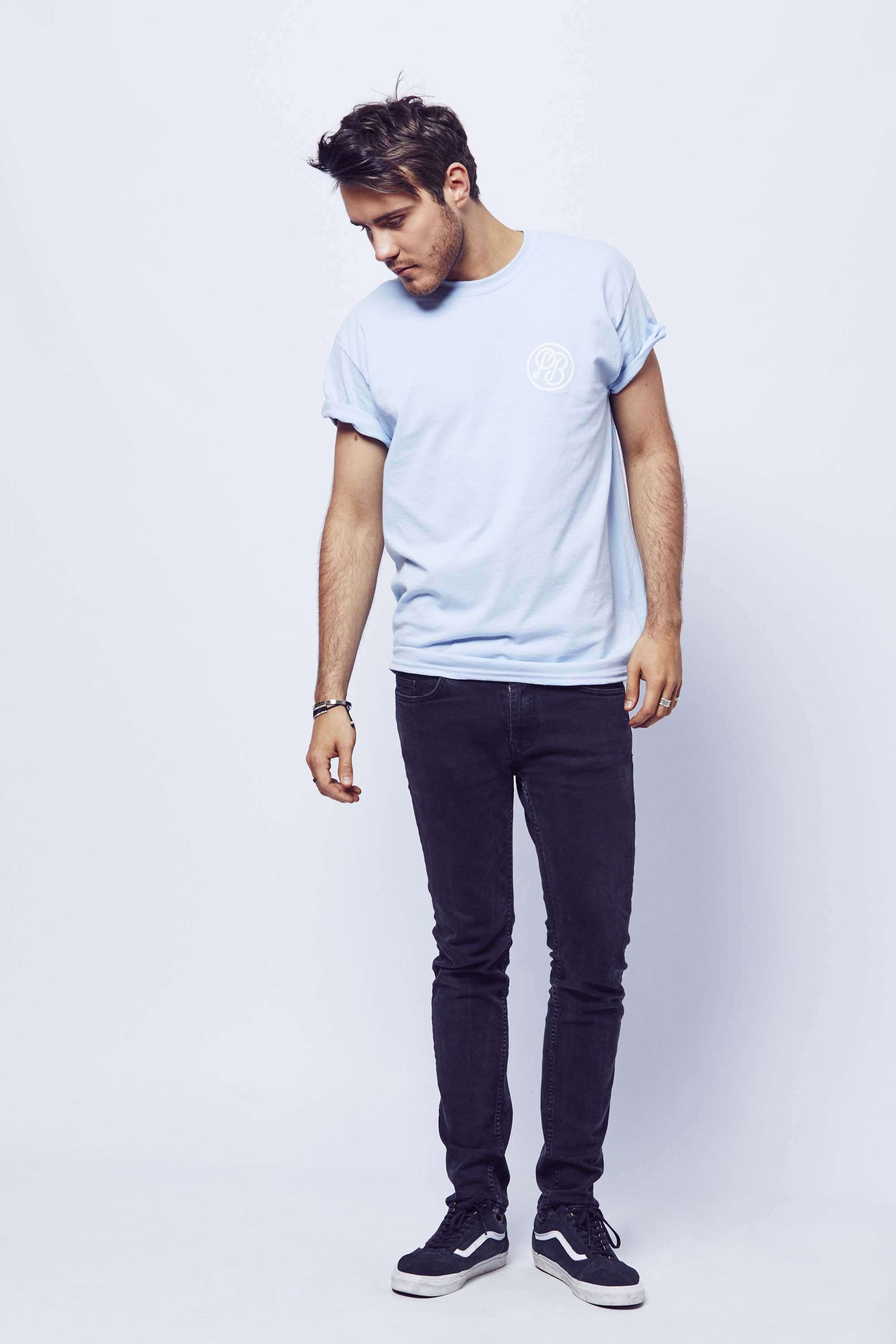 PointlessBlog T-shirt - Sky Blue