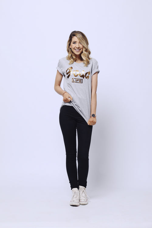 Sugg Life Grey Copper T-shirt