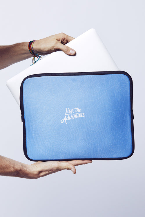 Live The Adventure Laptop Case