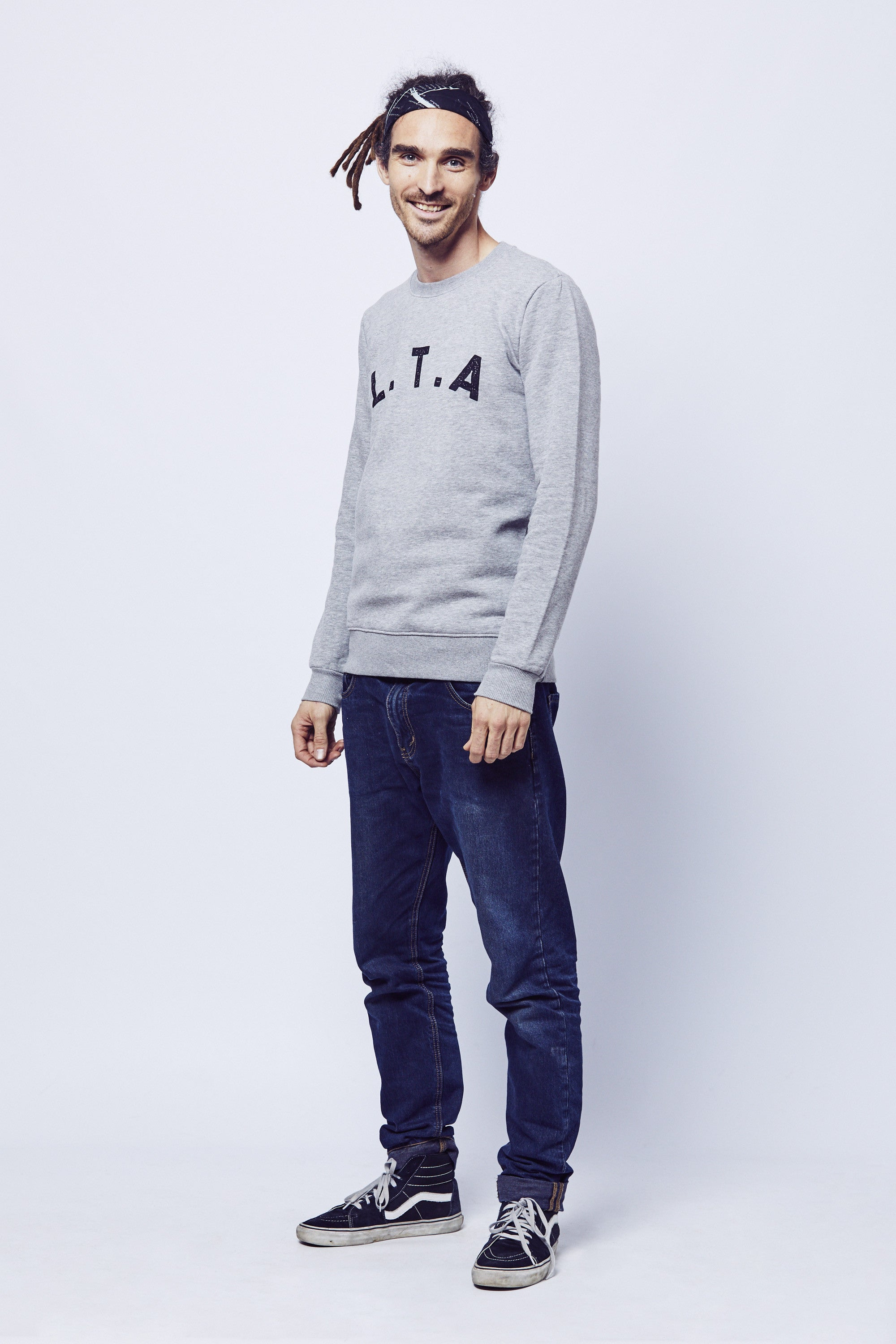 Live The Adventure 'LTA' Sweatshirt - Grey
