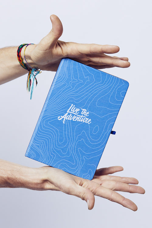 Live The Adventure Notepad