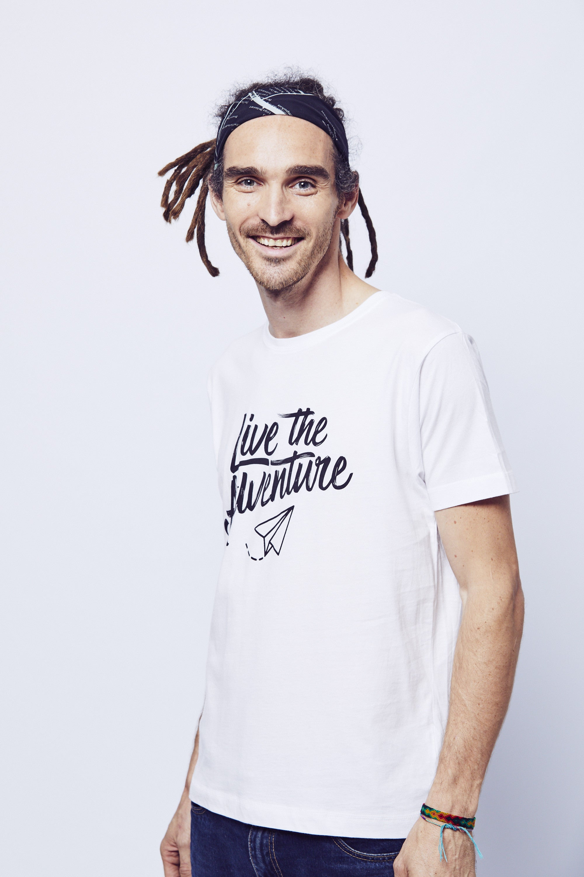 Live The Adventure T-Shirt - White