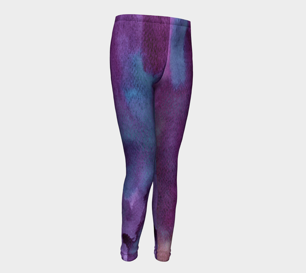 Child/ Youth Leggings Violet Blue