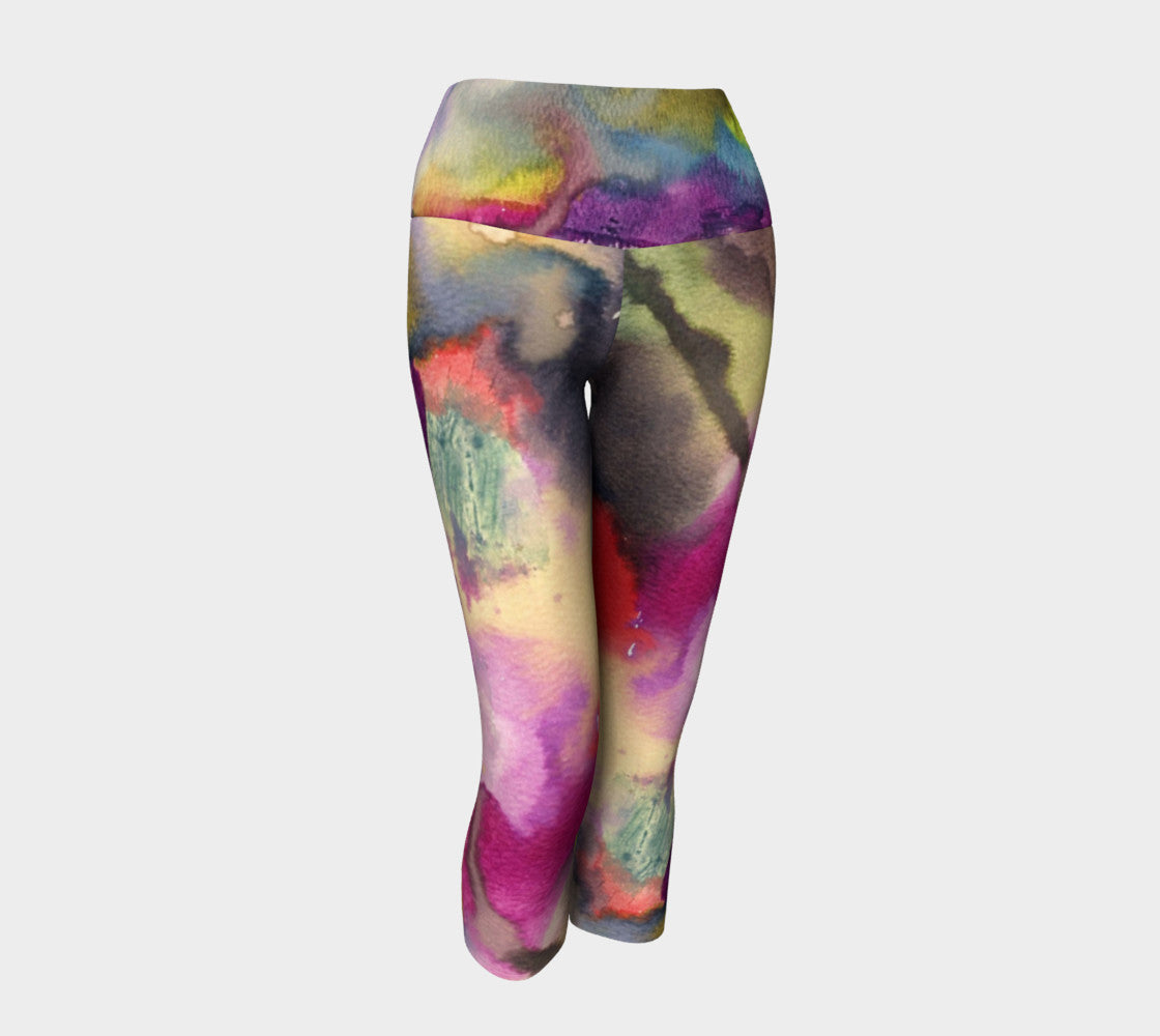 Light End Tunnel Yoga Capri
