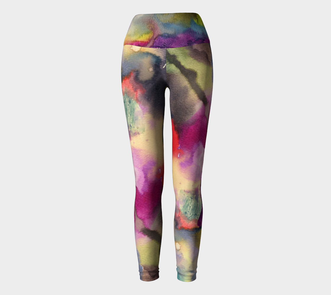 Light at the End of the Tunnel yoga pants