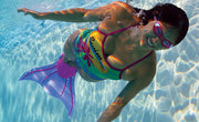 Finis Aquarius Fantasy Monofin in Purple For Teens / Adults