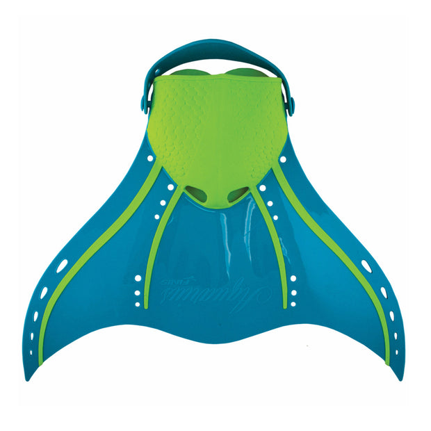 Finis Aquarius Fantasy Monofin in Tropical Teal For Teens / Adults