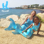 Mermaid Costume in Kalani's Bahama Blue by UraMermaid.com