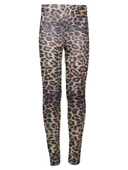 Leopard print leggings by Ura Mermaid