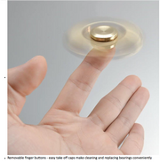 Gold Hand Spinner Toy