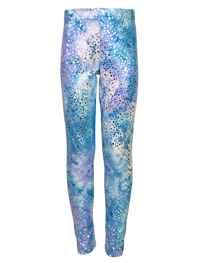 arabella's moon violet leggings front by uramermaid