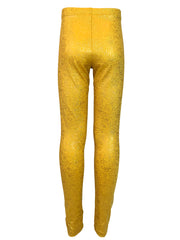 aurelia's gold bubbles leggings back by uramermaid.com