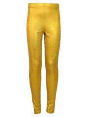 aurelia's gold bubbles leggings front by uramermaid.com