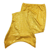 Olympic flat gold mermaid tail skin by ura mermaid