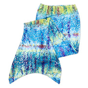 Olympic kids flat barbados green mermaid tail skin by ura mermaid