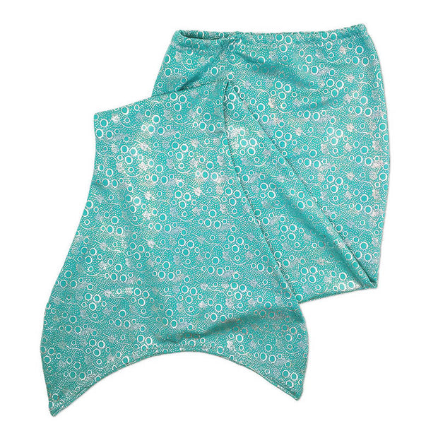 Olympic kids flat jade green mermaid tail skin by ura mermaid