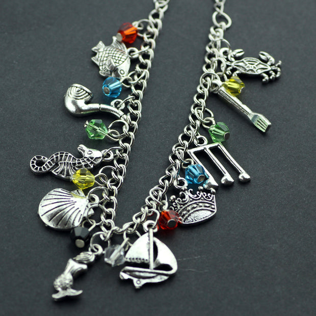 Mermaid Charm Bracelet for Kids / Adults