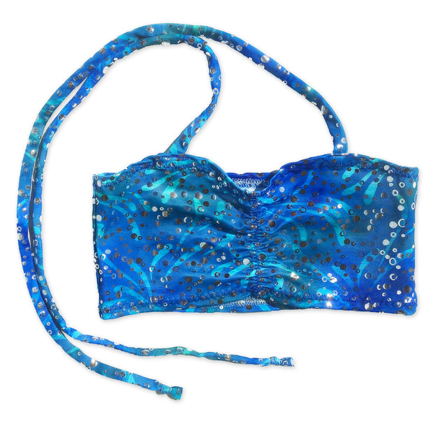UraMermaid Mermaid Costume Bra Top in Estelle's Ocean Blue