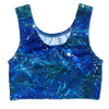 Estelle's Ocean Blue Mermaid Crop Top