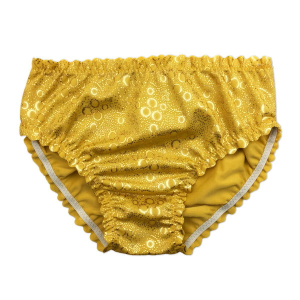 Aurelia's Gold Bubbles Mermaid Costume Briefs
