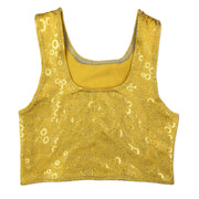 Aurelia's Gold Bubbles Kids Tankini Top