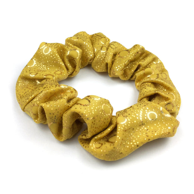 Aurelia's Gold Bubbles Holographic Hair Scrunchie