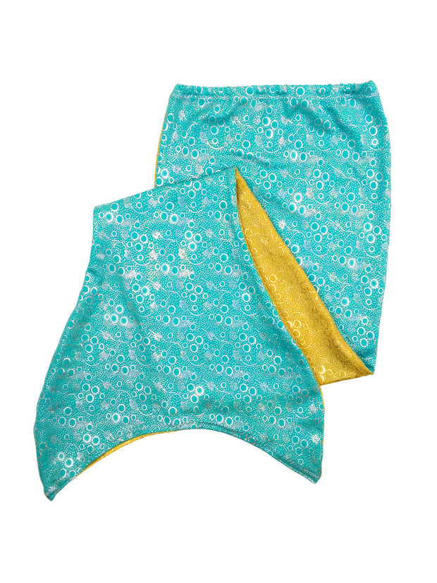 Reversible mermaid tail for kids by ura mermaid - skin only