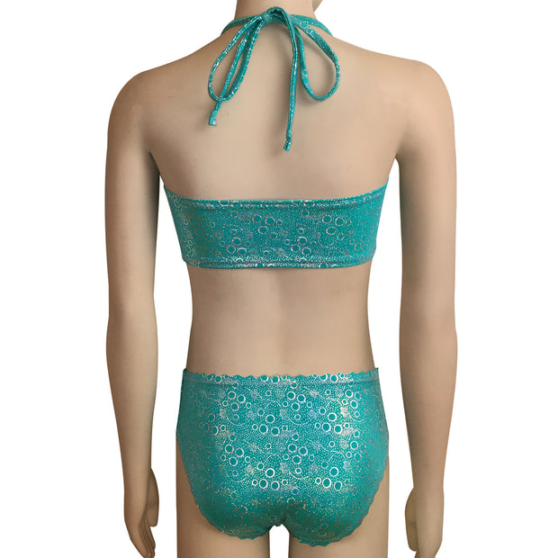 Jessica's Jade Bubbles Mermaid Accessories Set - Mermaid Top and Briefs