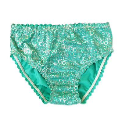 Jessica's Jade Green Bubbles Kids Costume Briefs