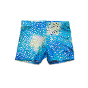 Hot Pant Shorts in Kalani's Bahama Blue by UraMermaid.com