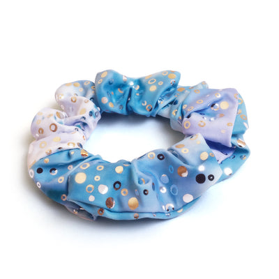 Arabella's Moon Violet Holographic Dance / Swim Hairband Scrunchie