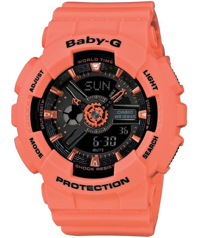 Casio Baby-G World Time Analog Digital BA-111-4A2 Women's Watch