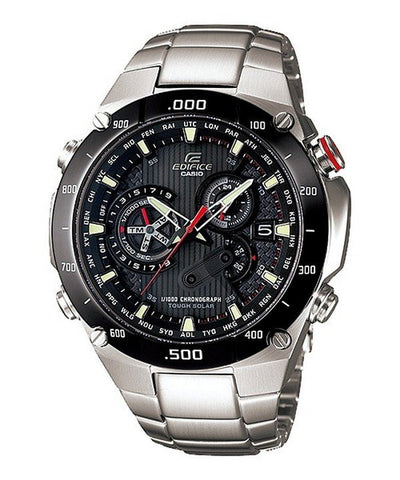 Casio Edifice Tough Solar EQS-1100DB-1AV EQS-1100DB-1 Men's Watch