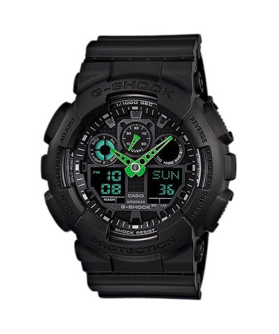 Casio G-Shock Analog-Digital GA-100C-1A3 Men's Watch