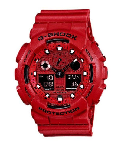 Casio G-Shock Analog Digital GA-100C-4A Men's Watch