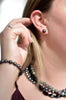 Black Stud Earrings - Pearls4Girls