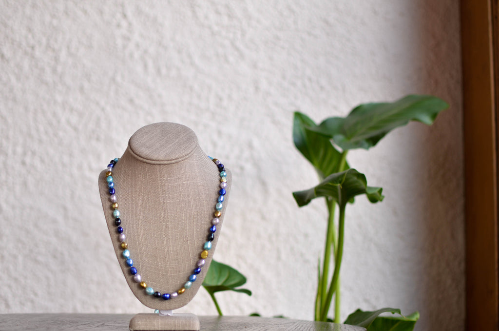 Peacock Necklace - Pearls4Girls