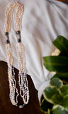 6-Strand Rice Pearl Necklace - Pearls4Girls