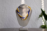 3 Strand Multi-Colored Necklace - Pearls4Girls