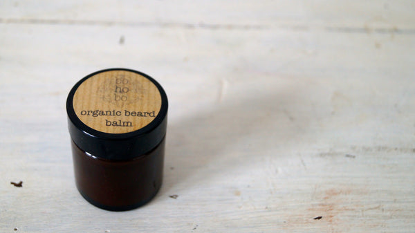 Beard balm from Bohobo Aromatherapies. Wonder of Kin - Curating Independent Brands.