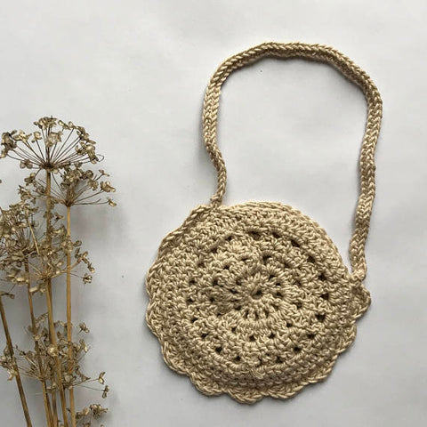 Flora Doily Purse by Esme Grace