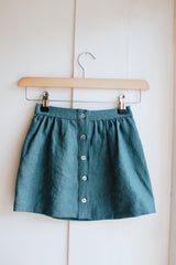 Button up skirt by The Old Rectory Clothing Co.