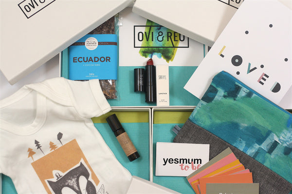 Wonder of Kin - Curating Independent Brands. Ovi and Reu Bump, Birth and Beyond subscription box for new and expectant mums. All these beautiful design-led gifts across three months.