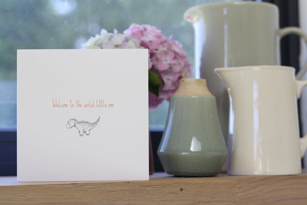 Welcome to the World cards by Gemma Louise Joyce
