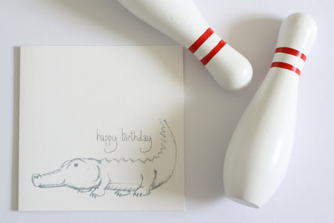Happy Birthday Card by Gemma Louise Joyce