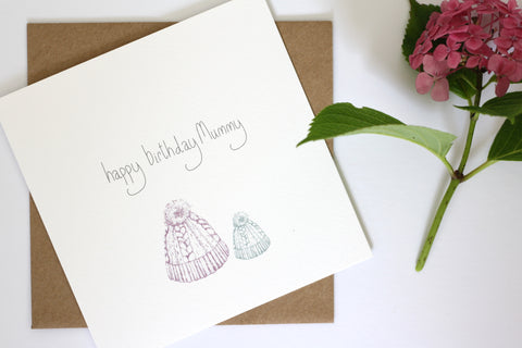Happy Birthday Mummy / Daddy Card by Gemma Louise Joyce