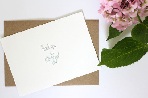 Thank You Card by Gemma Louise Joyce