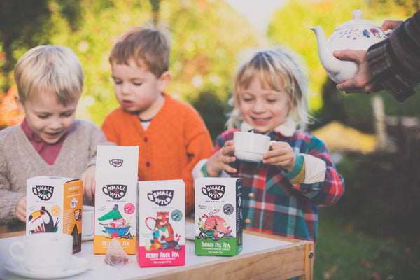 Happy Toucan herbal tea for kids by Small and Wild available at Wonder of Kin - Curating Independent Brands