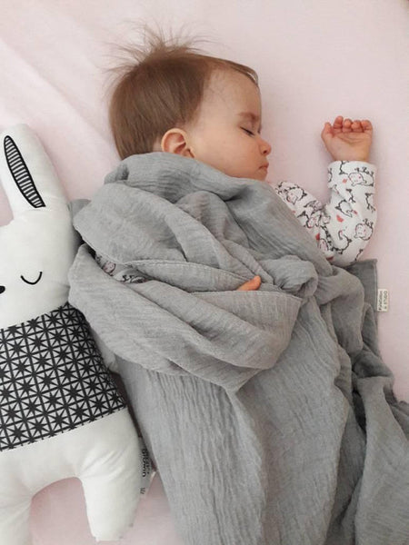 Swaddle cloth for baby by Pure Cotton Studio available at Wonder of Kin