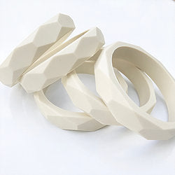 Baby Safe teething jewellery bangles from Mama Knows available from Wonder of Kin - Curating Independent brands.